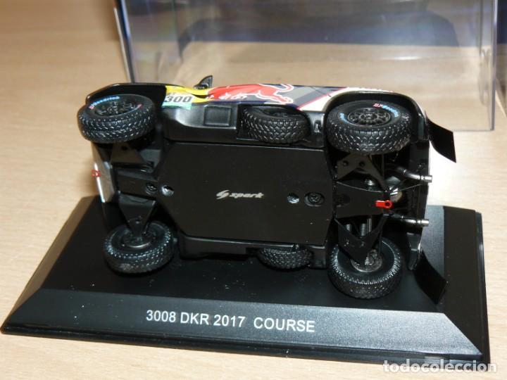 Coches a escala: 1/43 Minimax Spark Peugeot 3008 DKR 2017 Course Dakar Peterhansel Cottret 1:43 alfreedom - Foto 3 - 253479575