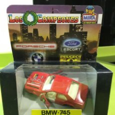 Coches a escala: BMW 745 MIRA CAMPEONES ESCALA 1:43. Lote 253571400