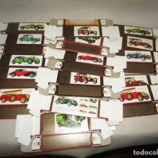 Coches a escala: ANTIGUO LOTE 16 CAJAS VACÍAS DE AUTOS MATCHBOX * MODELS OF YESTERYEAR* AÑO 1970-80S.. Lote 253696850