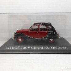 Coches a escala: COCHE CITROEN 2CV CHARLESTON 1982 ALTAYA 1/43 1:43 METAL MODEL CAR ALFREEDOM. Lote 254169220