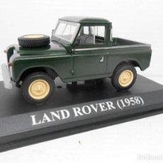 Coches a escala: COCHE LAND ROVER PICK UP 1957 MODEL CAR 1/43 1:43 MINIATURA ALFREEDOM ALTAYA IXO. Lote 254389835