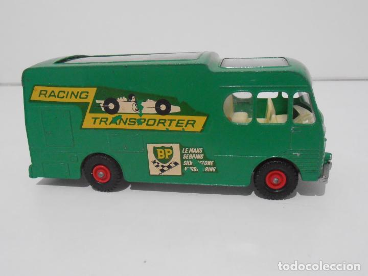 CAMION RACING CAR TRANSPORTER MATCHBOX KING SIZE Nº K-5 MADE IN ENGLAND BY LESNEY (Juguetes - Coches a Escala 1:43 Otras Marcas)