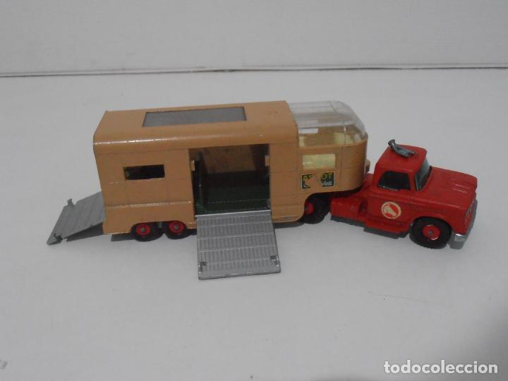 Coches a escala: CAMION ARTICULATED HORSE VAN MATCHBOX KING SIZE Nº K-18 MADE IN ENGLAND BY LESNEY - Foto 2 - 254495565