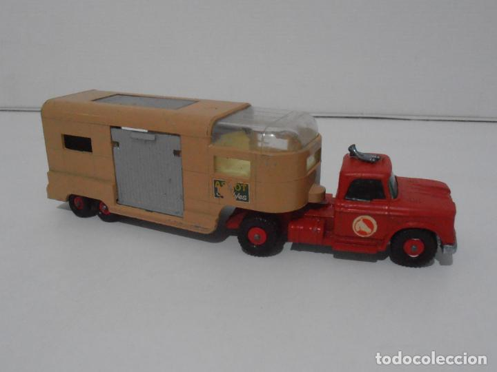 Coches a escala: CAMION ARTICULATED HORSE VAN MATCHBOX KING SIZE Nº K-18 MADE IN ENGLAND BY LESNEY - Foto 3 - 254495565
