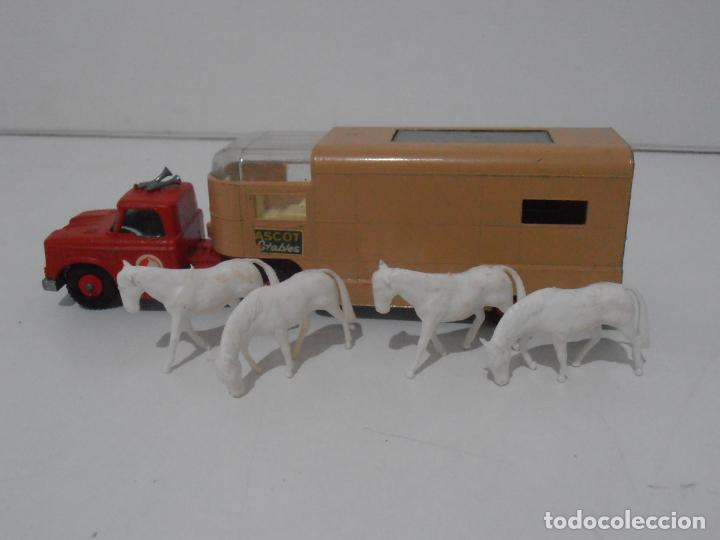 Coches a escala: CAMION ARTICULATED HORSE VAN MATCHBOX KING SIZE Nº K-18 MADE IN ENGLAND BY LESNEY - Foto 9 - 254495565