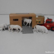 Coches a escala: CAMION ARTICULATED HORSE VAN MATCHBOX KING SIZE Nº K-18 MADE IN ENGLAND BY LESNEY. Lote 254495565