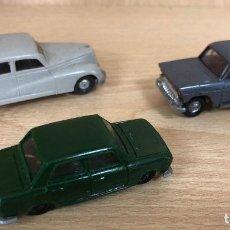 Voitures à l'échelle: LOTE 3 AUTOMOVILES EKO. MERCEDES 300 - SEAT 1400. Lote 254523040