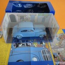 Auto in scala: COCHE TINTIN ESCALA 1:43 - Nº 6 MORRIS SIX 1948 - TINTIN EN EL PAIS DEL ORO NEGRO - 2004. Lote 254526735