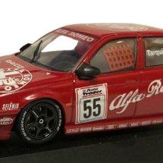 Auto in scala: COCHE ALFA ROMEO 155TS 155 TARQUINI 1994 BTCC CHAMPION RALLY MODEL CAR 1/43 1:43. Lote 243785760