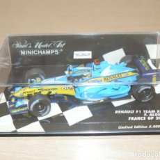 Coches a escala: 19- MINICHAMPS RENAULT F1 TEAM R26 F. ALONSO 2006 LIMITED EDITION 1:43 ALFREEDOM. Lote 255596115