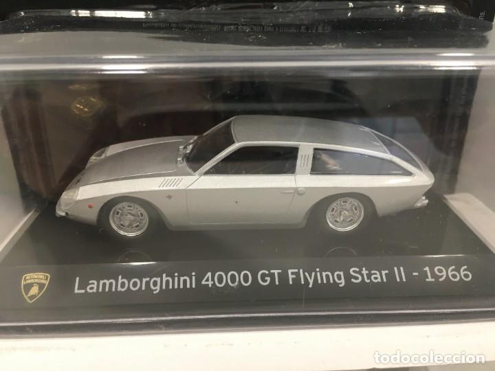 Coches a escala: COCHE SUPER CAR LAMBORGHINI 4000 GT FLYING STAR II- 1966. ESCALA 1/43. REFERENCIA 4 - Foto 2 - 289629343