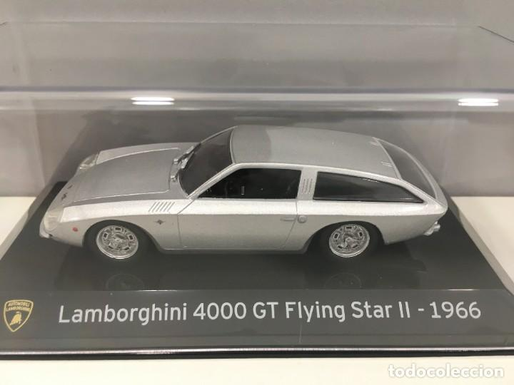 Coches a escala: COCHE SUPER CAR LAMBORGHINI 4000 GT FLYING STAR II- 1966. ESCALA 1/43. REFERENCIA 4 - Foto 3 - 289629343