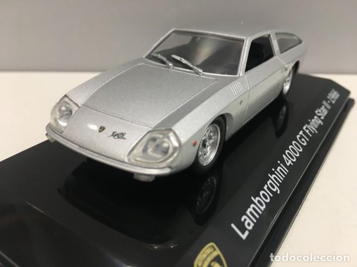 Coches a escala: COCHE SUPER CAR LAMBORGHINI 4000 GT FLYING STAR II- 1966. ESCALA 1/43. REFERENCIA 4 - Foto 4 - 289629343