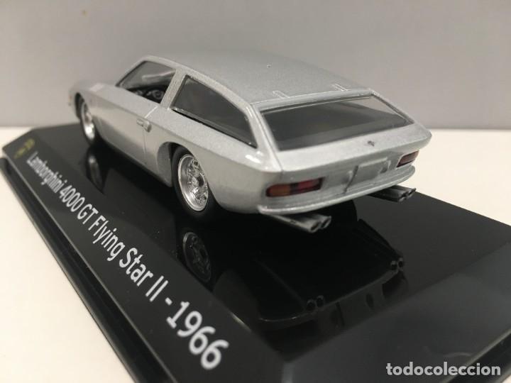 Coches a escala: COCHE SUPER CAR LAMBORGHINI 4000 GT FLYING STAR II- 1966. ESCALA 1/43. REFERENCIA 4 - Foto 8 - 289629343
