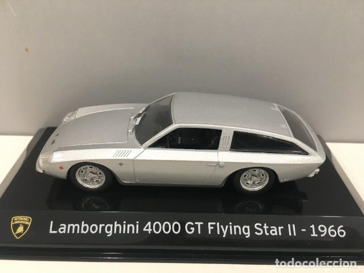 COCHE SUPER CAR LAMBORGHINI 4000 GT FLYING STAR II- 1966. ESCALA 1/43. REFERENCIA 4 (Juguetes - Coches a Escala 1:43 Otras Marcas)