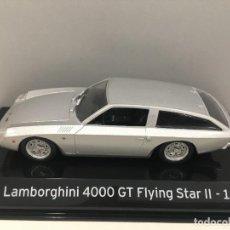 Coches a escala: COCHE SUPER CAR LAMBORGHINI 4000 GT FLYING STAR II- 1966. ESCALA 1/43. REFERENCIA 4. Lote 289629343