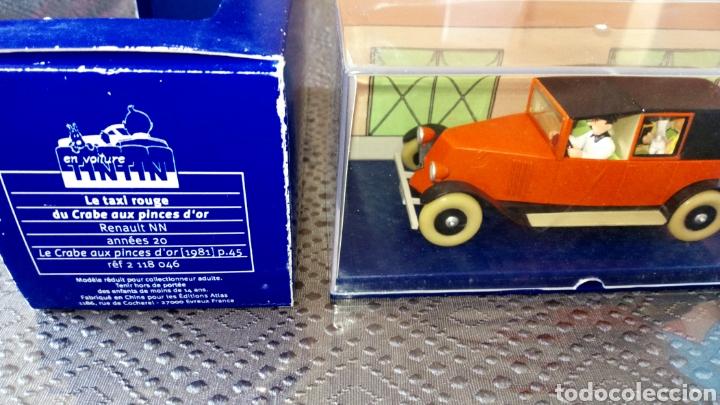 Coches a escala: Coche tintin escala 1:43 Renault taxi cangrejo pinzas de oro se envía lo q se ve en la foto - Foto 3 - 261676900