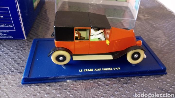 Coches a escala: Coche tintin escala 1:43 Renault taxi cangrejo pinzas de oro se envía lo q se ve en la foto - Foto 6 - 261676900
