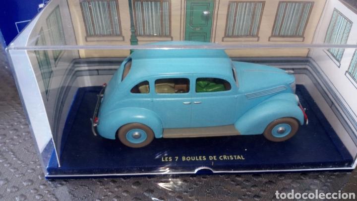 Coches a escala: Coche tintin escala 1:43 taxi Ford 7 bolas de cristal, se envía lo q se ve en la foto - Foto 3 - 261678505