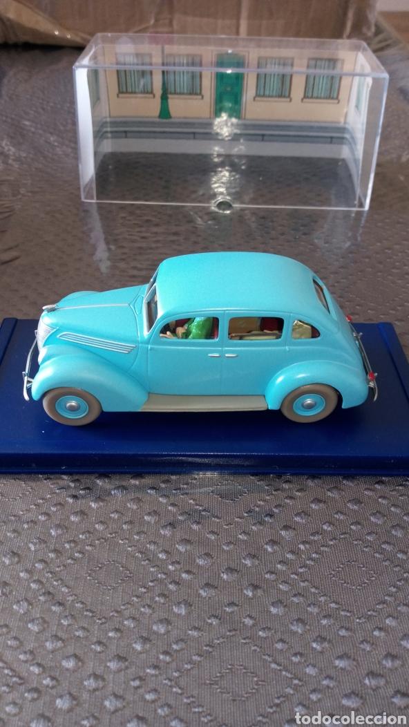 Coches a escala: Coche tintin escala 1:43 taxi Ford 7 bolas de cristal, se envía lo q se ve en la foto - Foto 5 - 261678505