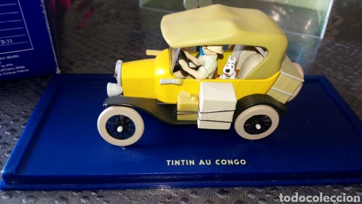 Coches a escala: Coche tintin escala 1:43 Ford modelo t tintin en el Congo se envía lo q se ve en la foto - Foto 3 - 261679070