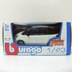 Coches a escala: FIAT 500L - BURAGO BBURAGO STREET FIRE ESCALA 1:43 - COCHE MONOVOLUMEN 500 L ITALIA TOY CAR JUGUETE. Lote 261966800