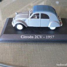 Coches a escala: COCHE ALTAYA CITROEN 2CV-1957. Lote 263155885