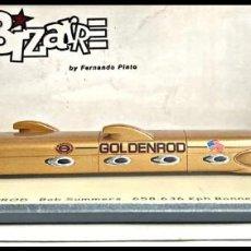 Coches a escala: GOLDENROD LSR BOB SUMMERS RECORD 658,63 KPM 1965. BIZARRE . 1/43. Lote 263730360