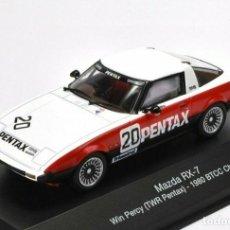 Voitures à l'échelle: MAZDA RX-7 WIN PERCY TWR PENTAX 1980 BTCC COCHE 1:43 ATLAS DIECAST. Lote 267038089