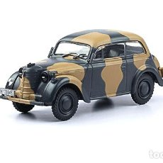 Carros em escala: COCHE MILITAR OPEL KADETT SPEZIAL K38 / 1937 - SEGUNDA GUERRA MUNDIAL (ESCALA 1:43) IXO,N21. Lote 268270484