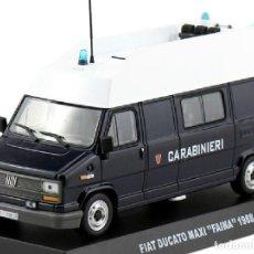 Voitures à l'échelle: FIAT DUCATO MAXI FAINA 1988 CARABINIERI POLICIA POLICE 1:43 AGOSTINI *13. Lote 268932399