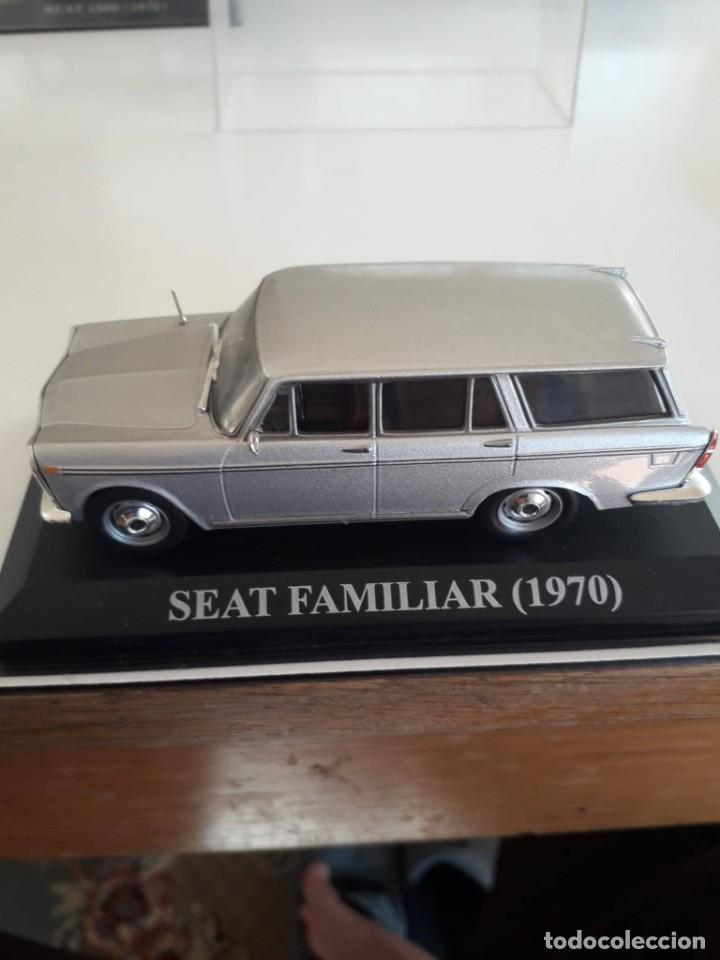 SEAT 1500 BIFARO FAMILIAR MODELO AÑOS 70 ESCALA 1/43 MATRICULA MADRID (Juguetes - Coches a Escala 1:43 Otras Marcas)
