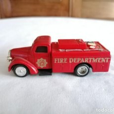 Coches a escala: GOLDEN 1/43 CAMIÓN FORD FIRE ENGINE 1939 FIRE DEPARTMENT METAL. Lote 276282528