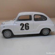 Coches a escala: 1/43 COCHE SEAT 600 RALLY 1958 RALLYE Nº26 SEISCIENTOS MODEL CAR 1:43 BARCELONA. Lote 296020548