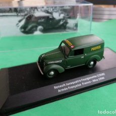 Coches a escala: RENAULT JUVAQUATRE FOURGONETTE ( 1938 ) ARMEE FRANÁISE FRANCE- MAYO 1940. NUEVO COMPLETAMENTE.. Lote 280586648