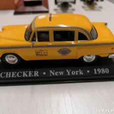 Coches a escala: BONITO TAXI CHECKER NEW YORK - 1980 COMO NUEVO PERFECTAS CONDICIONES!!. Lote 280731168