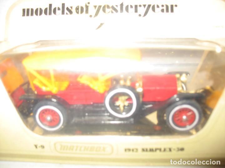 Coches a escala: matcyhbox model of simplex 50 del 1912 - Foto 6 - 283234333