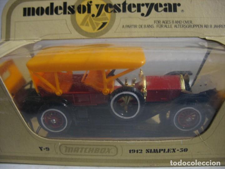 Coches a escala: matcyhbox model of simplex 50 del 1912 - Foto 7 - 283234333