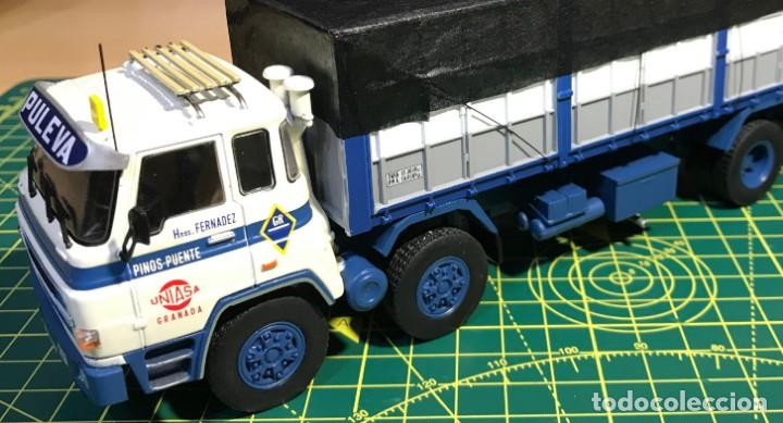 Coches a escala: BARREIROS 82/35 D. Camión clásico 4 ejes - Productos Lácteos de Puleva / 8235, Leche (Escala 1:43) - Foto 8 - 284766593