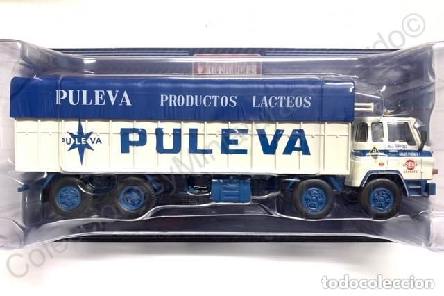 Coches a escala: BARREIROS 82/35 D. Camión clásico 4 ejes - Productos Lácteos de Puleva / 8235, Leche (Escala 1:43) - Foto 2 - 284766593