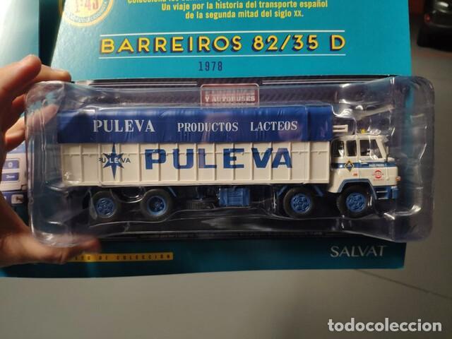 Coches a escala: BARREIROS 82/35 D. Camión clásico 4 ejes - Productos Lácteos de Puleva / 8235, Leche (Escala 1:43) - Foto 4 - 284766593