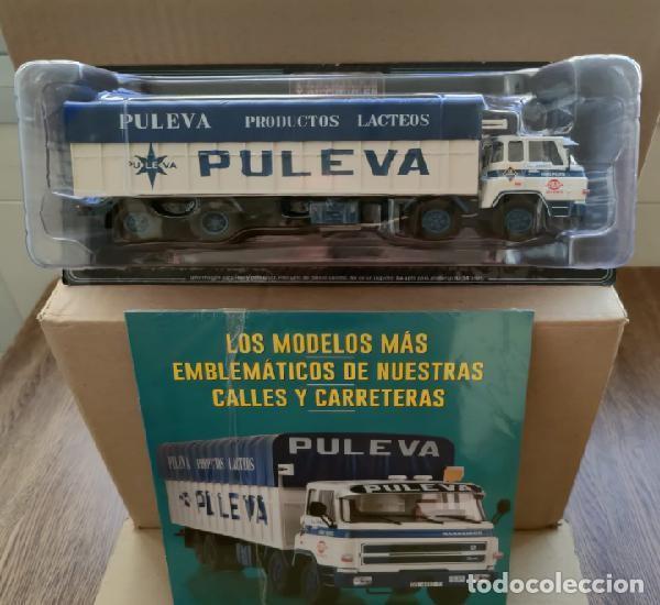 Coches a escala: BARREIROS 82/35 D. Camión clásico 4 ejes - Productos Lácteos de Puleva / 8235, Leche (Escala 1:43) - Foto 3 - 284766593