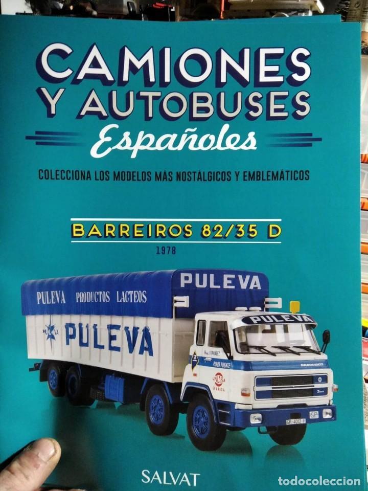 Coches a escala: BARREIROS 82/35 D. Camión clásico 4 ejes - Productos Lácteos de Puleva / 8235, Leche (Escala 1:43) - Foto 6 - 284766593