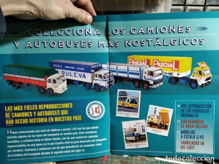 Coches a escala: BARREIROS 82/35 D. Camión clásico 4 ejes - Productos Lácteos de Puleva / 8235, Leche (Escala 1:43) - Foto 7 - 284766593