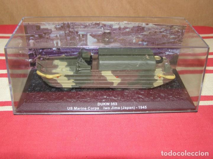 Coches a escala: Colección de vehículos militares Ech 1/43: DUKW 353 (Iwo Jima Japon 1945) - Foto 4 - 287755898