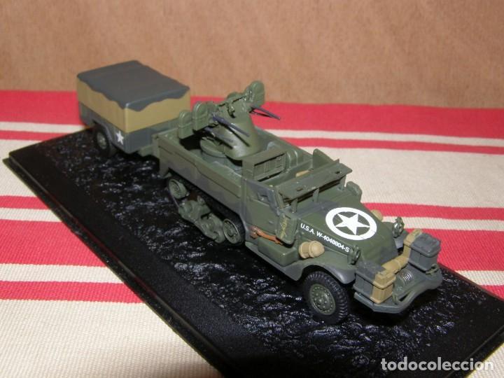 Coches a escala: Colección de vehículos militares Ech 1/43: M16 MGMC Remolque de 1 tonelada (Ardenas Bélgica 1945) - Foto 2 - 287756628