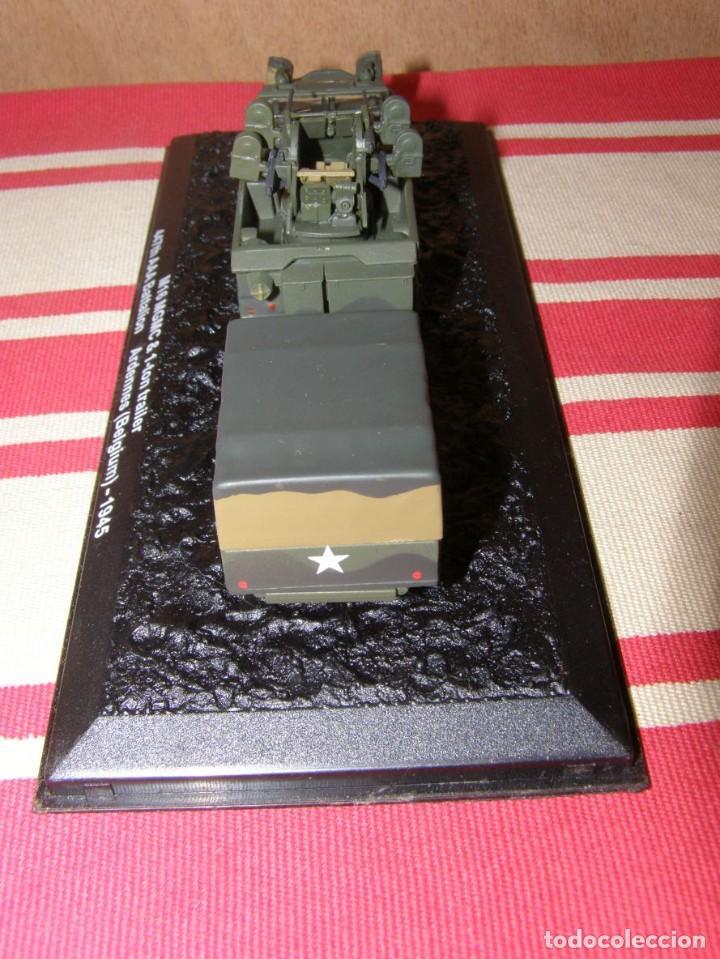 Coches a escala: Colección de vehículos militares Ech 1/43: M16 MGMC Remolque de 1 tonelada (Ardenas Bélgica 1945) - Foto 3 - 287756628