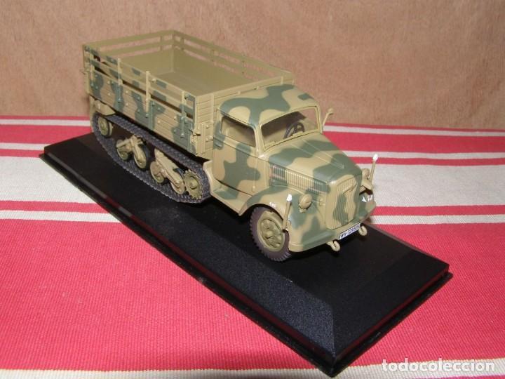 Coches a escala: Colección de vehículos militares Ech 1/43: Opel Maultier (Kursk URSS 1943) - Foto 2 - 287757433