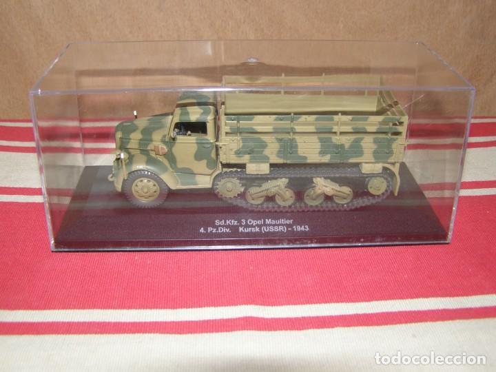 Coches a escala: Colección de vehículos militares Ech 1/43: Opel Maultier (Kursk URSS 1943) - Foto 4 - 287757433