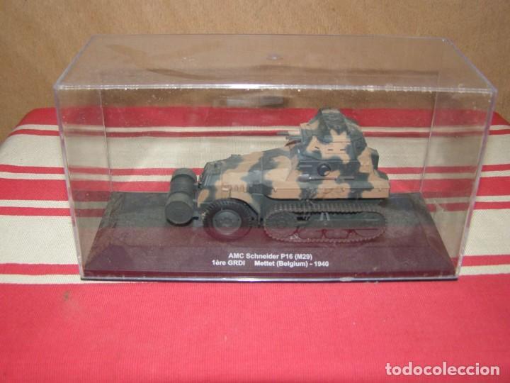 Coches a escala: Colección de vehículos militares Ech 1/43: AMC Schneider P6 (Mettet Bélgica 1940) - Foto 4 - 287765128